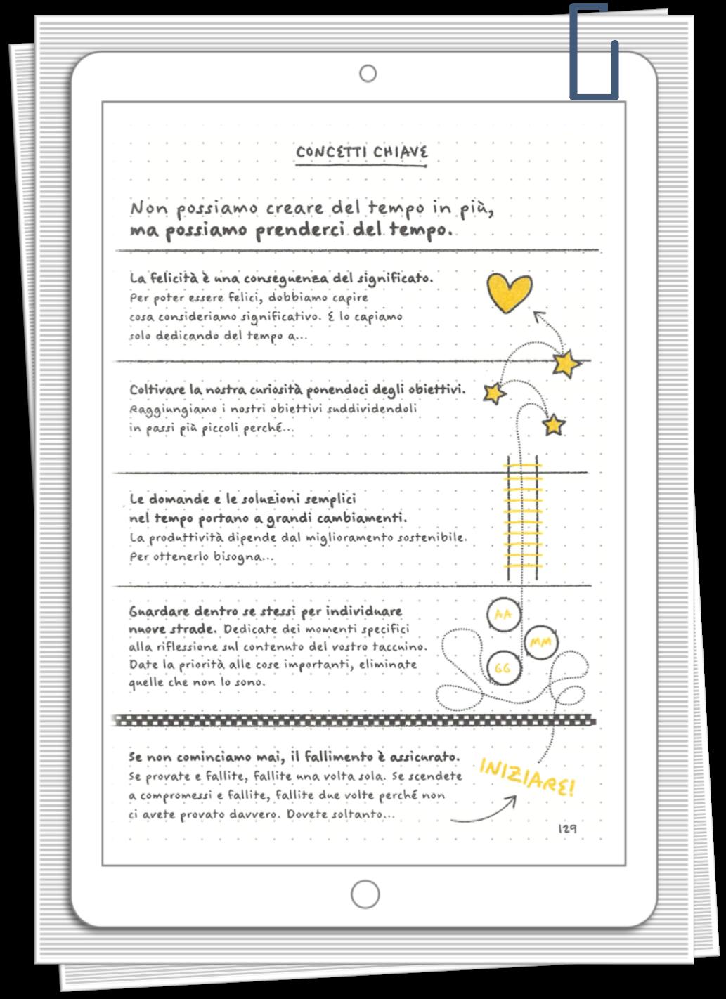 Irene Linguari AssistenteDallaAallaZeta Importanza dell'Azione Dal libro Il metodo Bullet Journal di Ryder CarrolAssistente dalla A alla Zeta