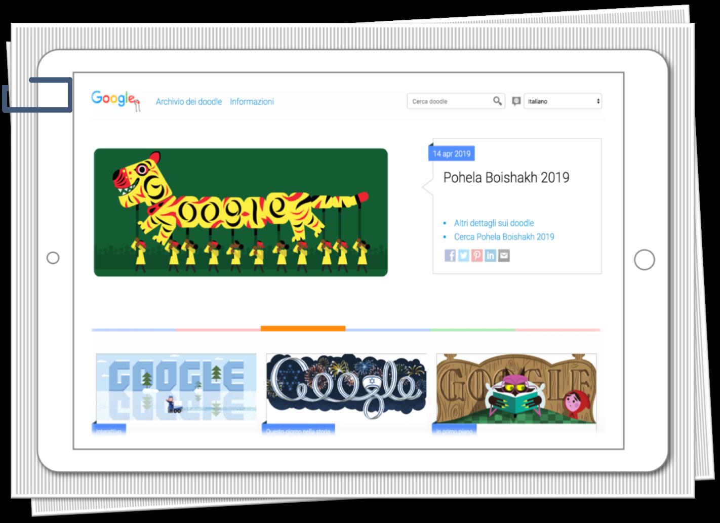 Irene Linguari AssistenteDallaAallaZeta Google Doodles Assistente dalla A alla Zeta