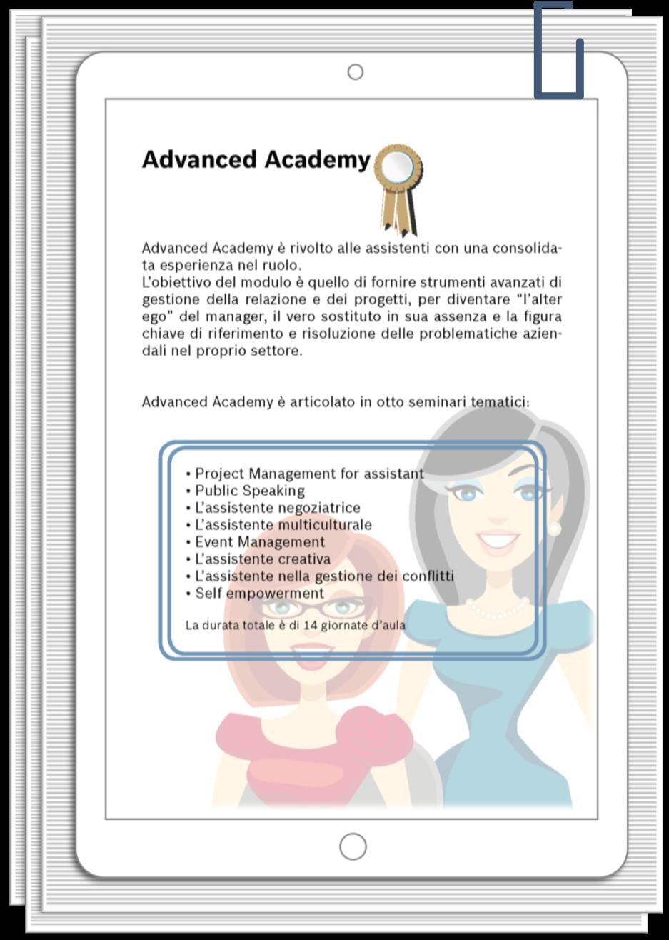 IreneLinguari_AssistenteDallaAallaZeta_About_Irene_02_Formazione_Assistente_A_SecretaryAcademy_Adv_prog
