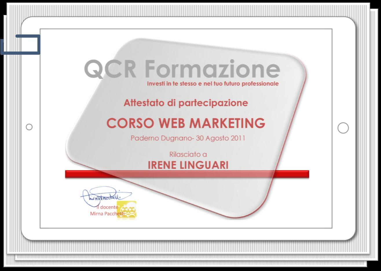 IreneLinguari_AssistenteDallaAallaZeta_About_Irene_02_Formazione_Marketing_WebMarketing_Qcr_att