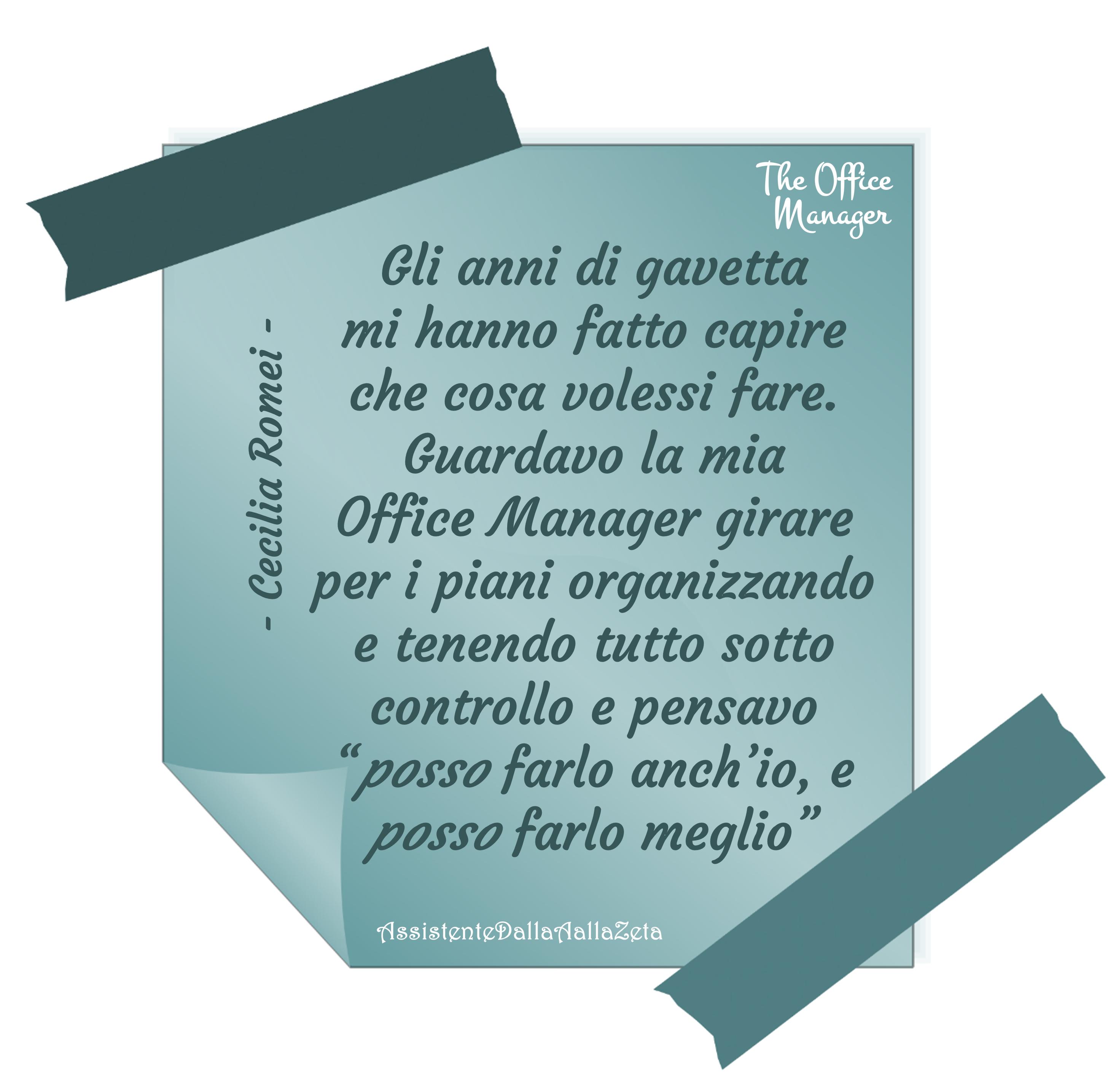 Irene Linguari AssistenteDallaAallaZeta Assistente di Direzione Professione Office Manager Cecilia Romei General Manager Assistente Dalla A allaZeta